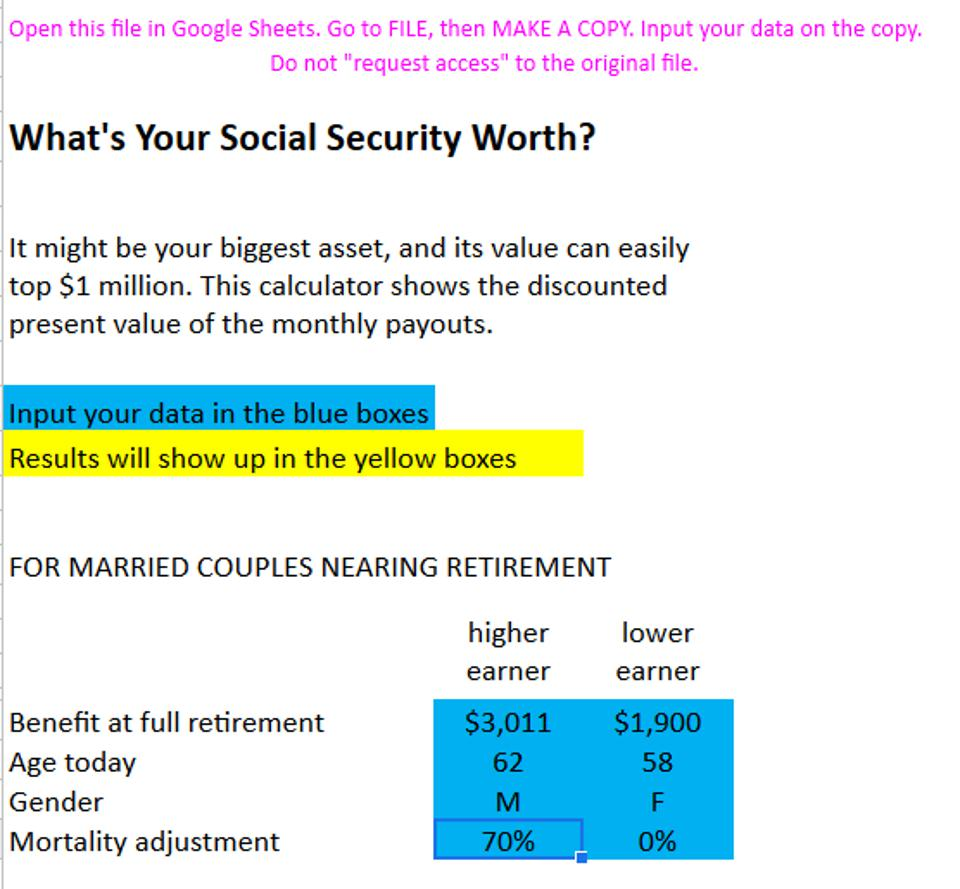 social security benefits working before full retirement age