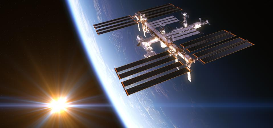 The International Space Station (ISS).