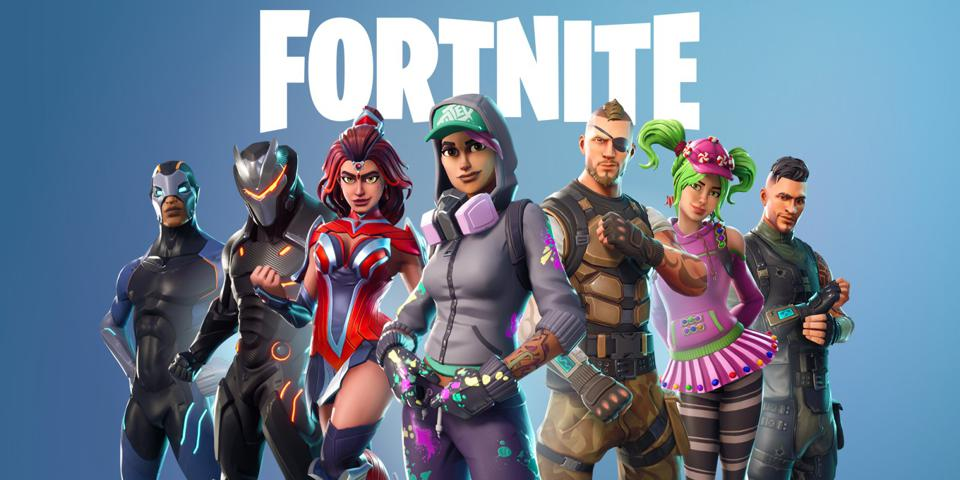 A promo image for Fortnite, the social multiplayer game with over 350 million registered users.