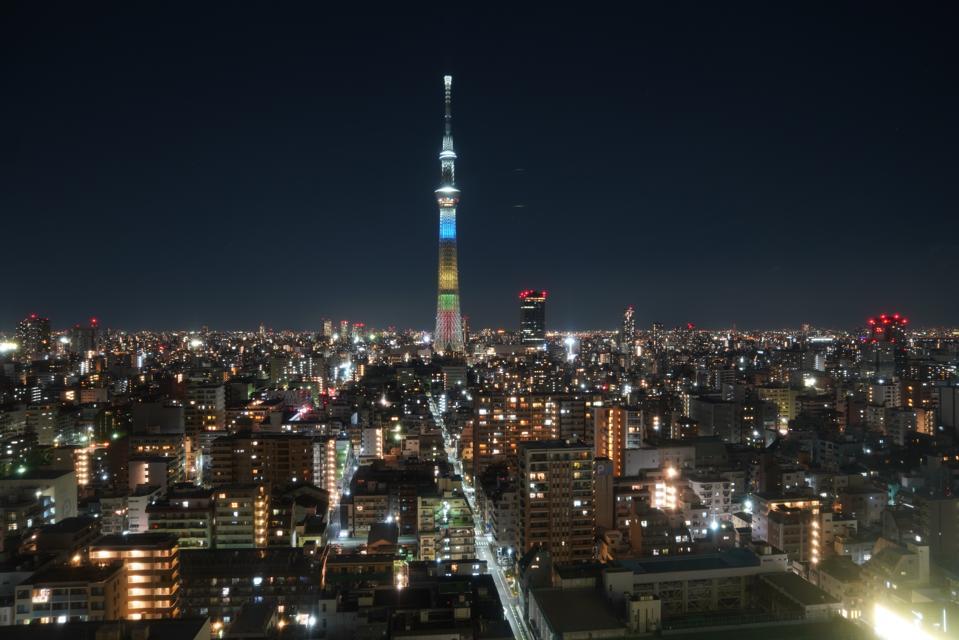Tokyo skyline Skytree