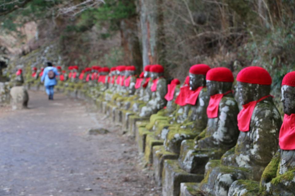Buddhas Nikko Japan