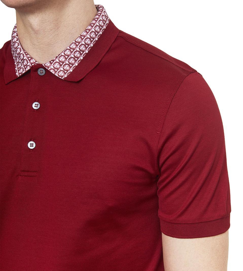 Short Sleeved Gancini Polo