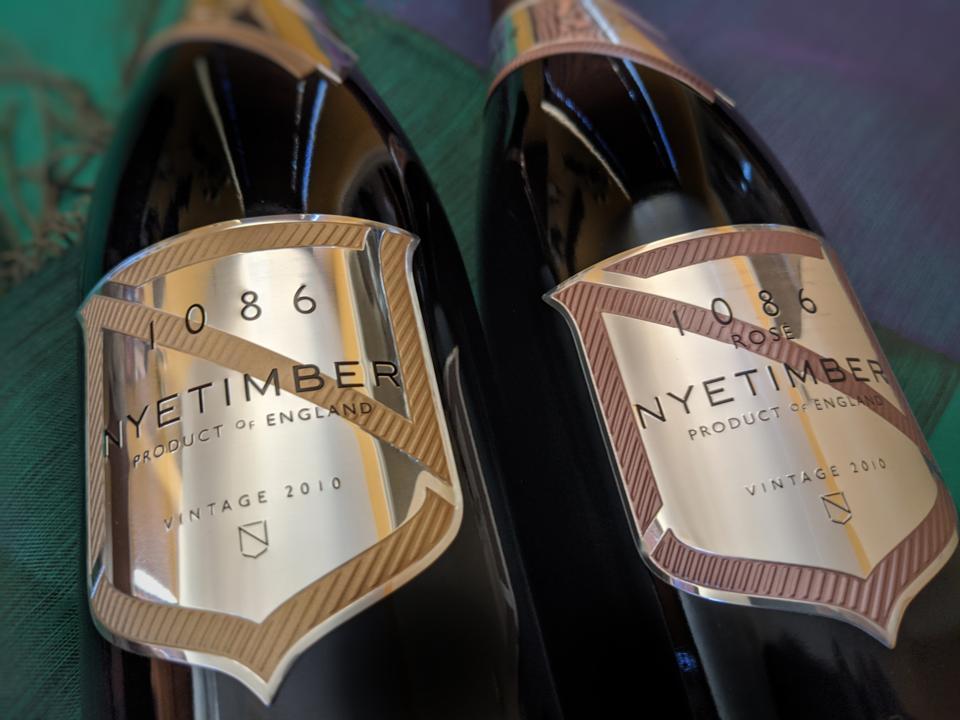 2010 Nyetimber, 1086 Prestige Cuvee Brut and Rosé