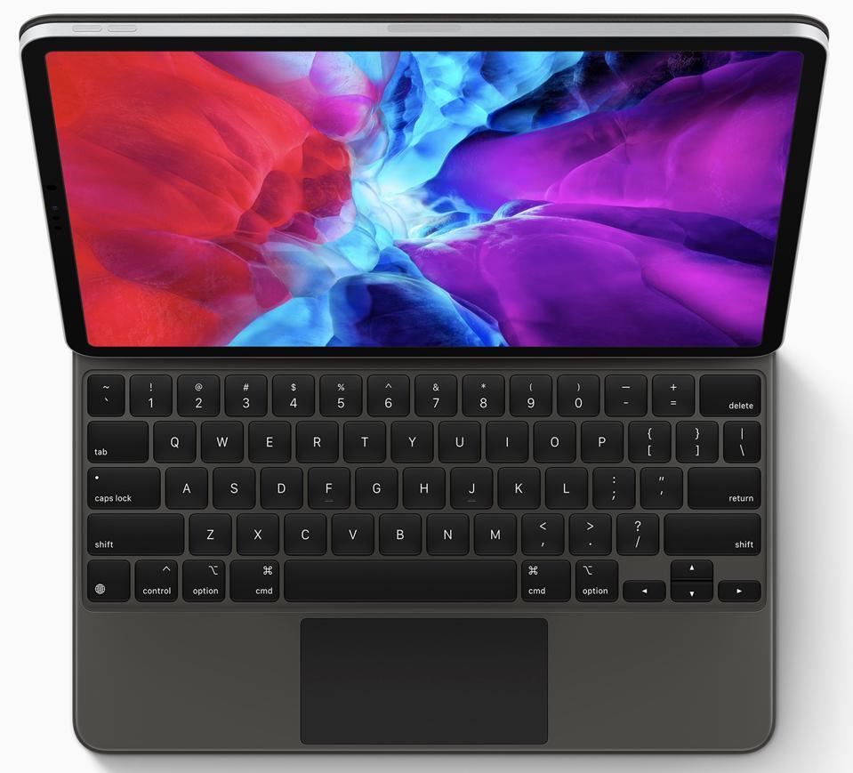 2020 iPad Pro with Magic Keyboard.