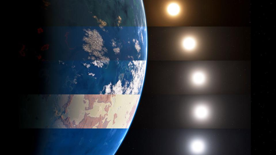 New Planetary Color Models Will Decode Signs Of Extrasolar Life