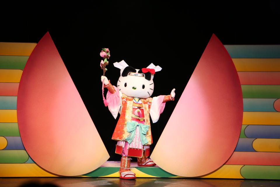 Hello Kitty theme park japan tokyo kabuki theater