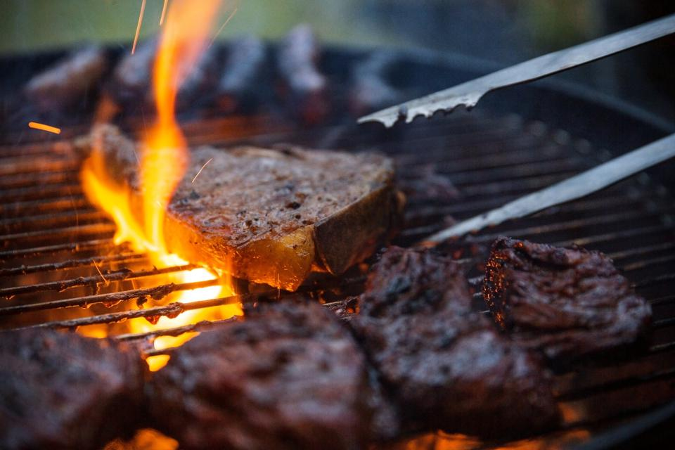 There'll be many steaks on the grill this Father's Day.