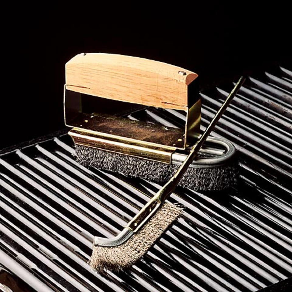 Garrett Wade BBQ Steel Brush Set