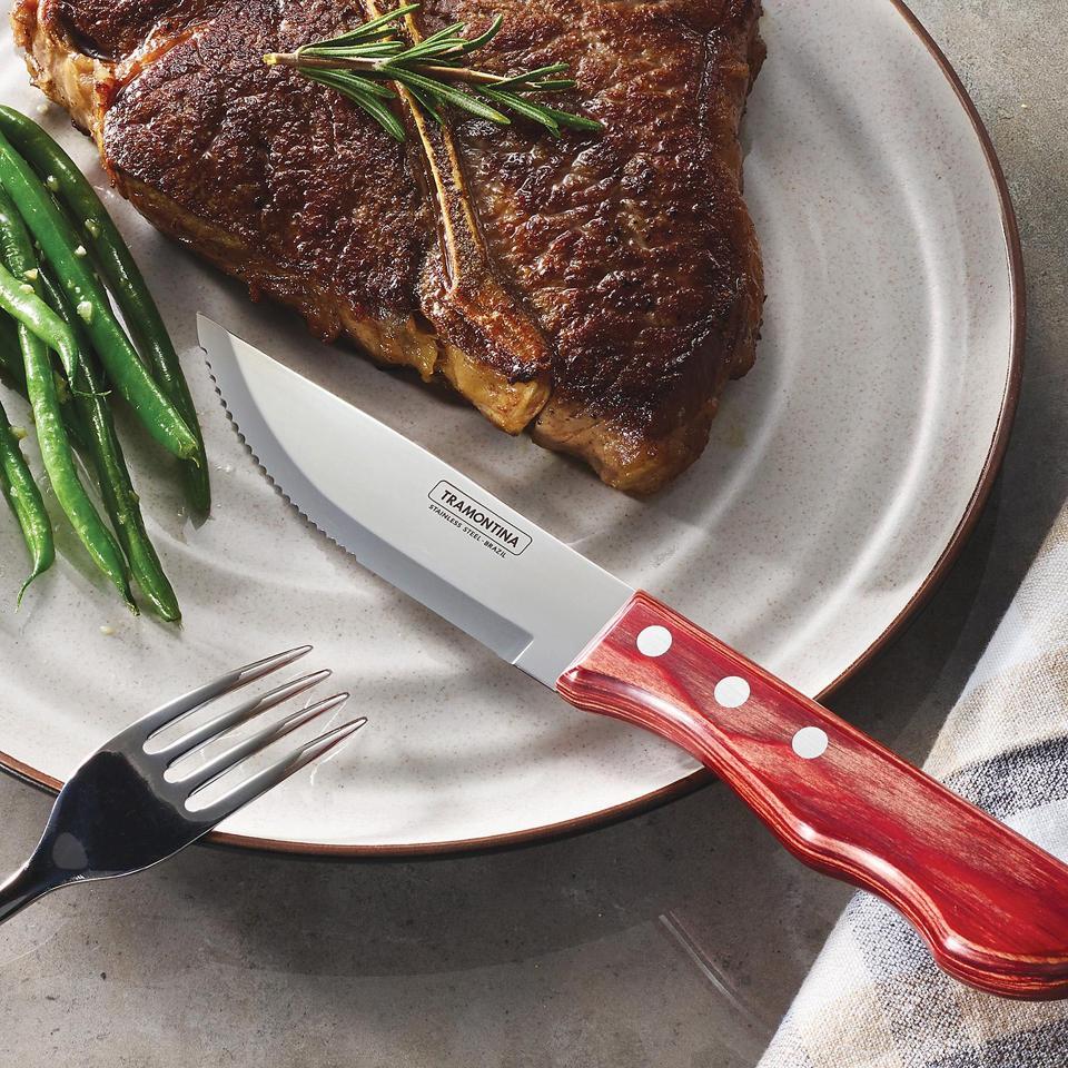Tramontina 8-Piece Porterhouse Steak Knife Set