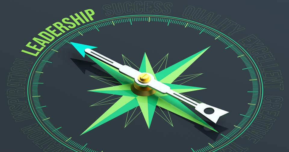 LEADERSHIP Compass Concept 3D Rendering