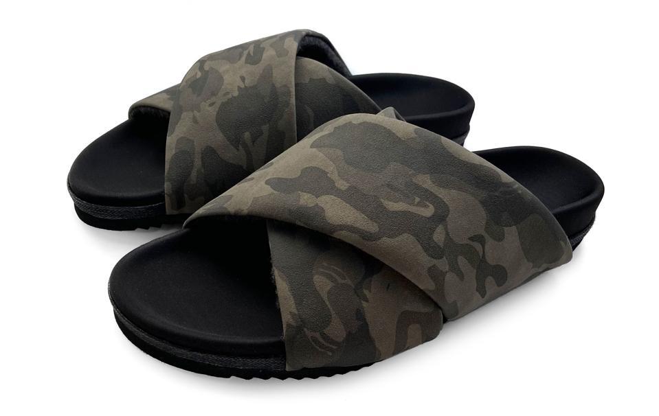 R0AM Cross 2 Camo Sandals