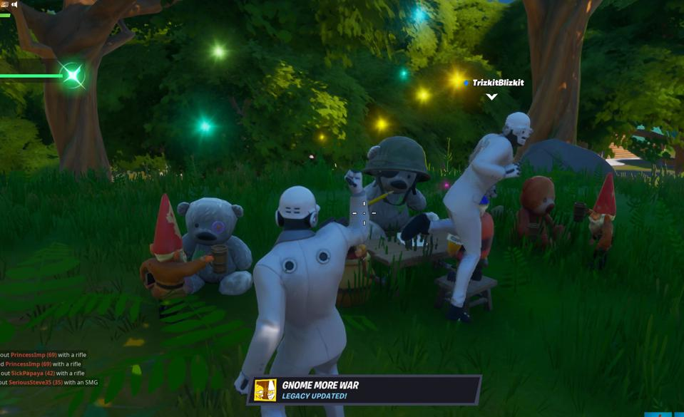 Fortnite Gnomes and Bears