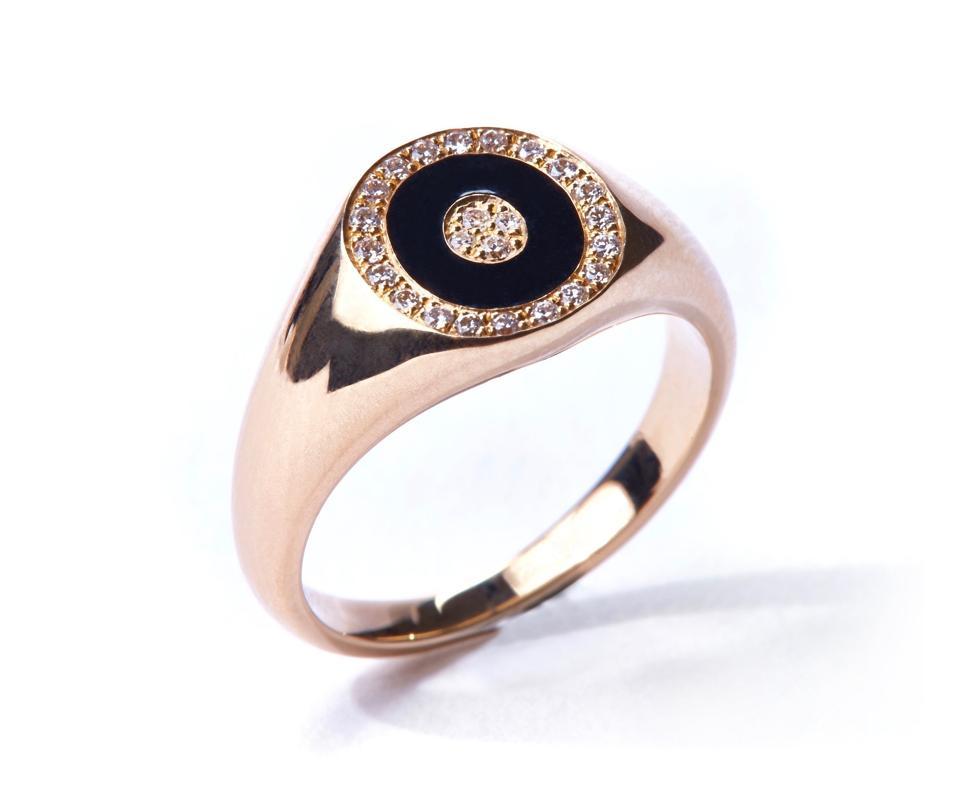 Douce Cavalcade Noir Ring by Anissa Kermiche