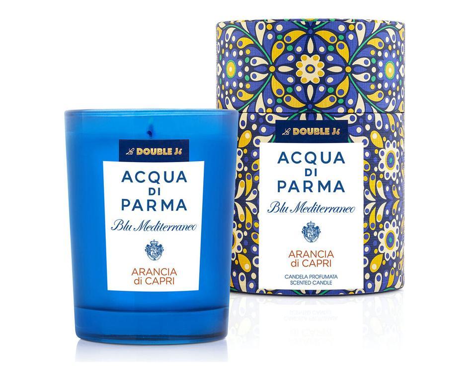 La DoubleJ LDJ x Acqua di Parma candle