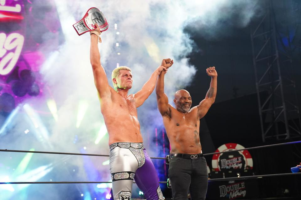 Cody Mike Tyson AEW Double Or Nothing