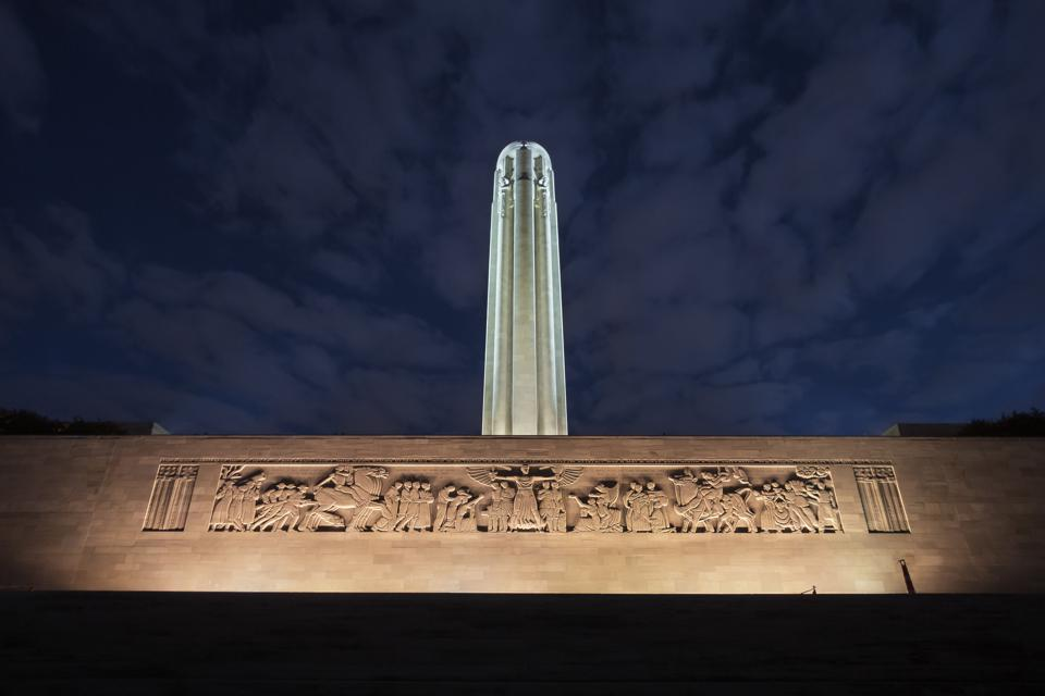 The Great Frieze at the National World War I Museum and Memorial in Kansas City.