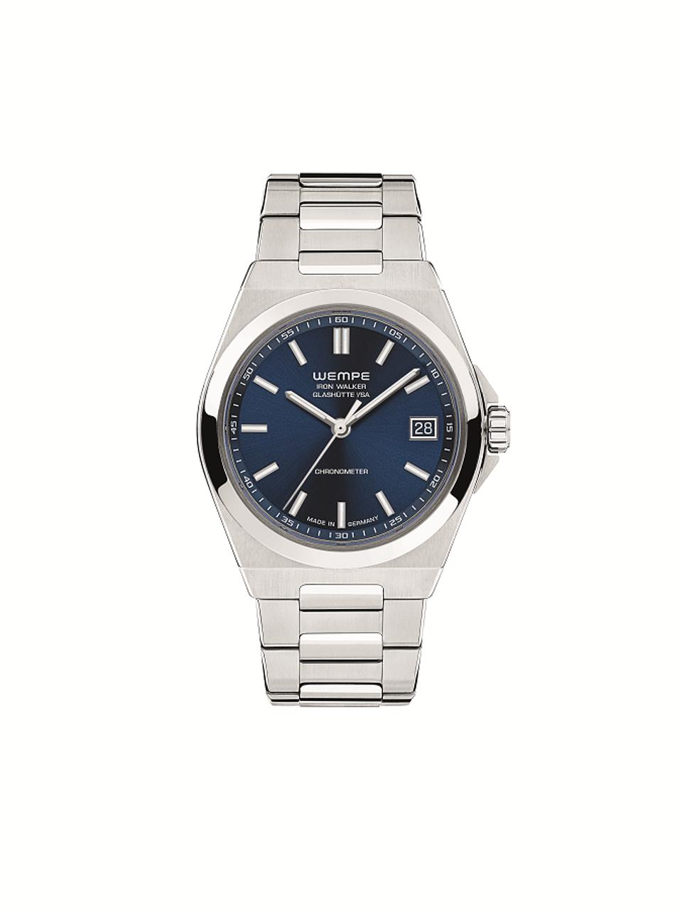 Iron Walker Automatic Women's Watch with blue dial