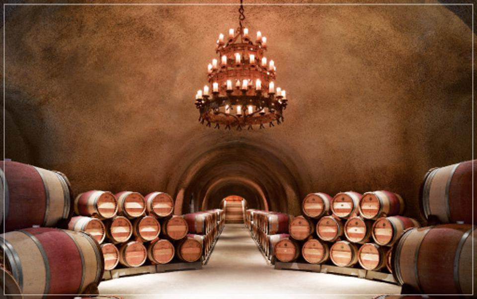 Caves at Far Niente Winery, Oakville, Napa Valley