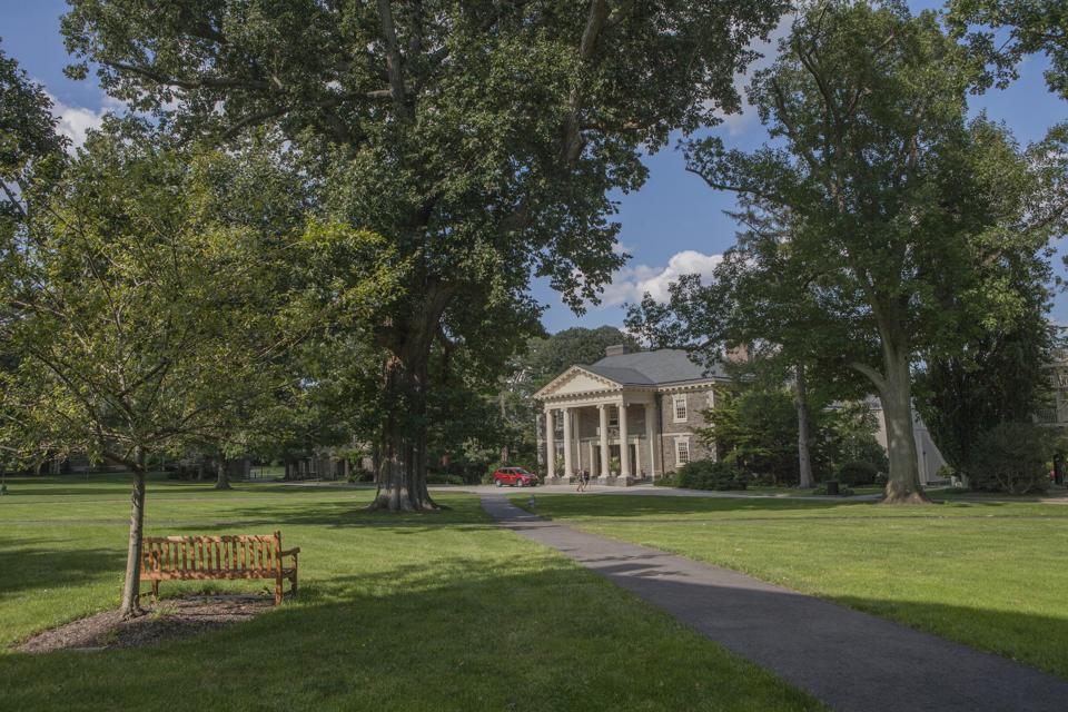 Marshall Auditorium, Roberts Hall, Haverford College, Haverford, Pennsylvania, USA