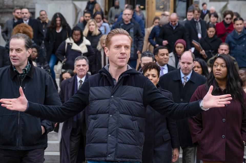 Damian Lewis, Paul Giamatti, Corey Stoll, Maggie Siff, Julianna Margulies, Jeffrey DeMunn, Asia Kate Dillon, Condola Rashad, Billions, Showtime, David Levien, Brian Koppelman, streaming, season 5, Opportunity Zone, hedge funds, Yonkers, fossil fuel, impact investments