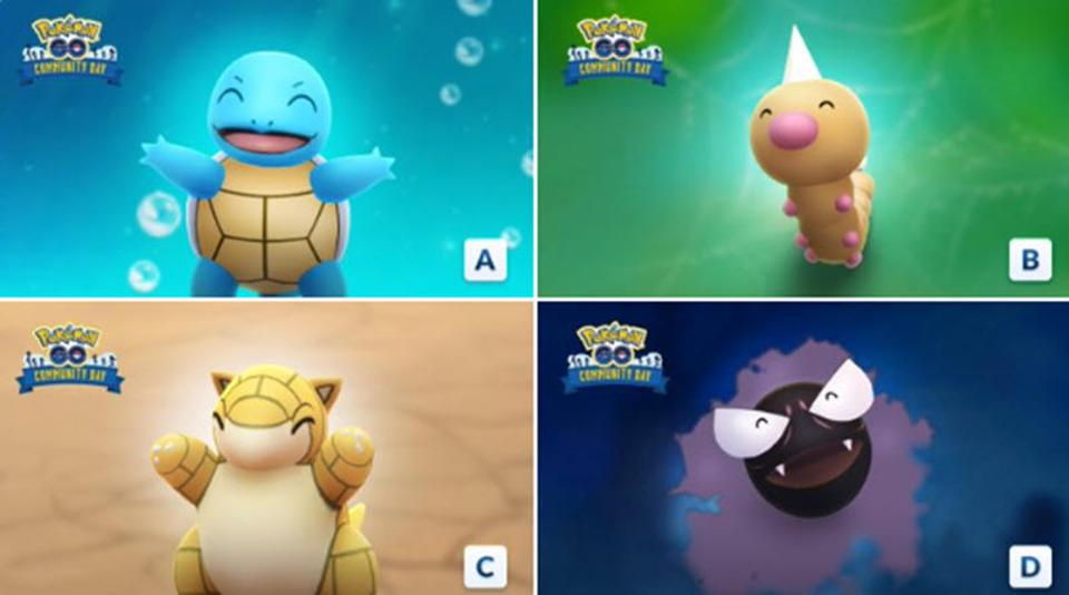 Here Are The Strange Winners Of Pokémon GO's Community Day Fan Vote