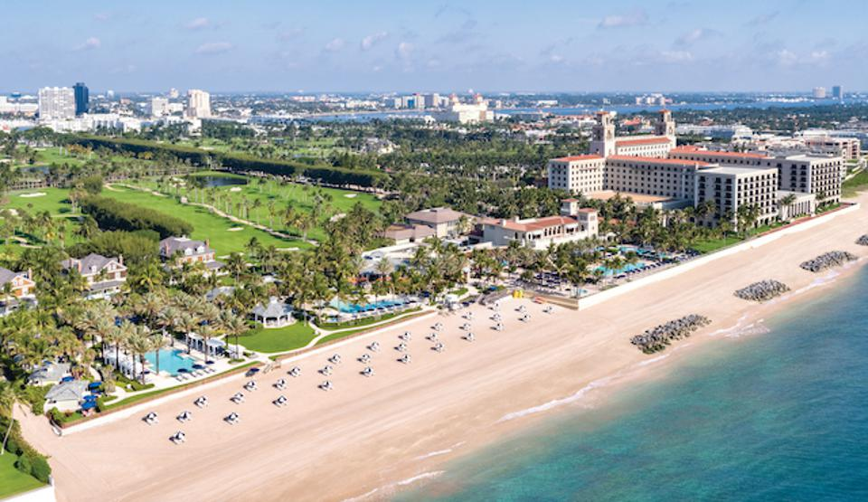 Beachfront on The Atlantic at The Breakers