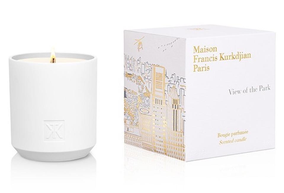 maison francis kurkdjian paris bougie view of the park luxury candle