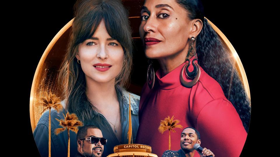 Dakota Johnson, Kelvin Harrison Jr., Tracee Ellis Ross and Ice Cube in 'The High Note'