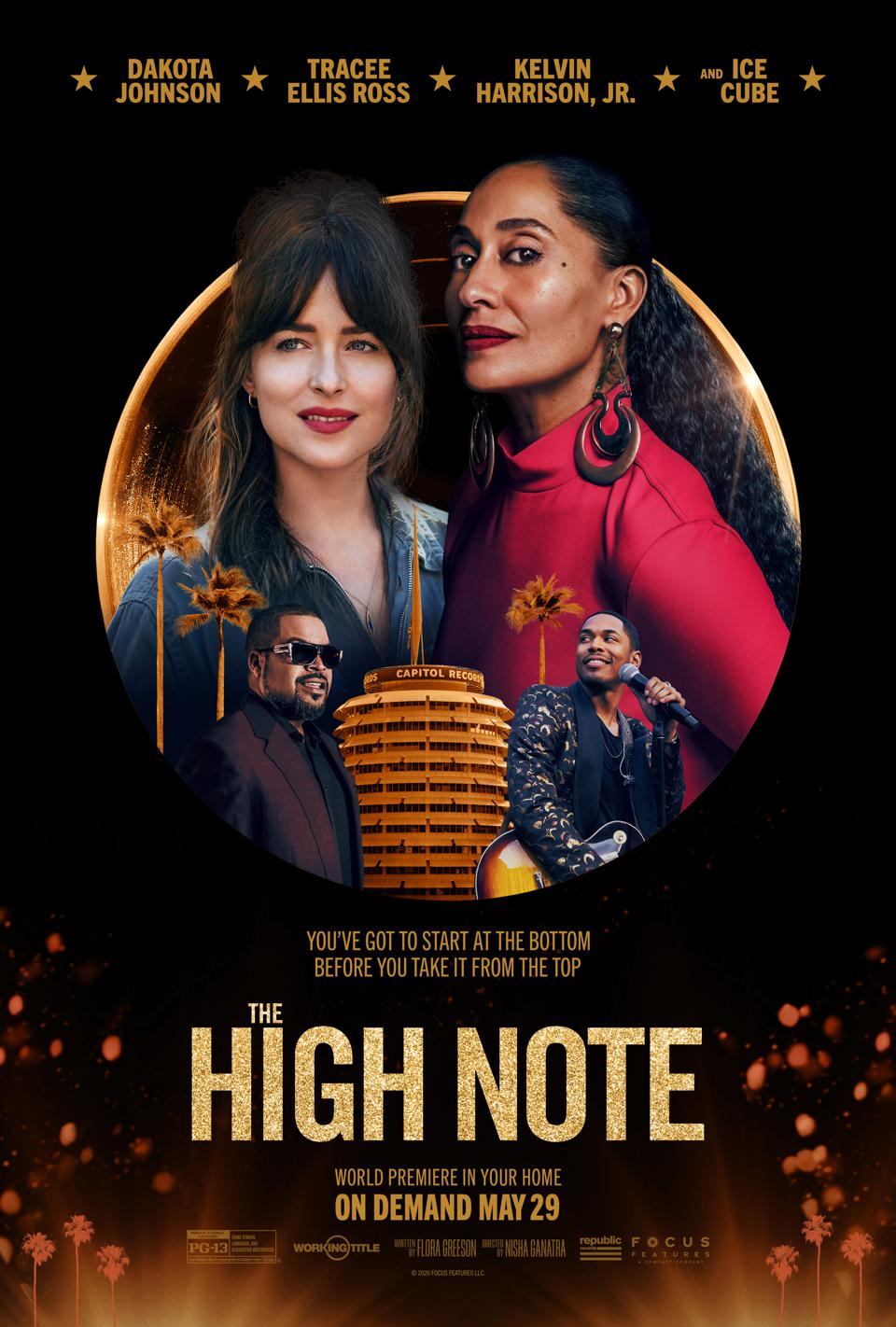 'The High Note' poster