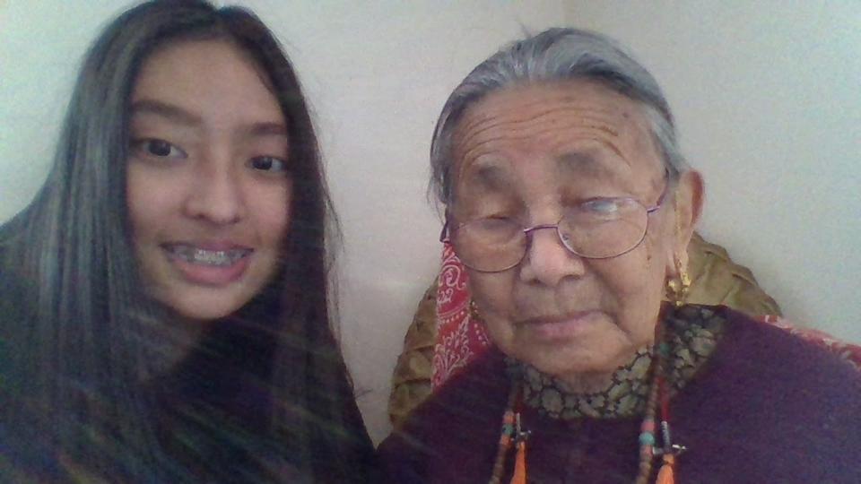 Child with Grandparent