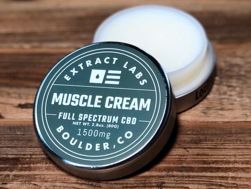 cbd muscle cream in tin