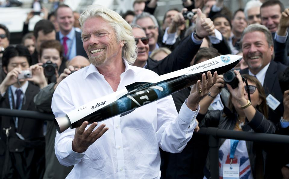 British billionaire Richard Branson show