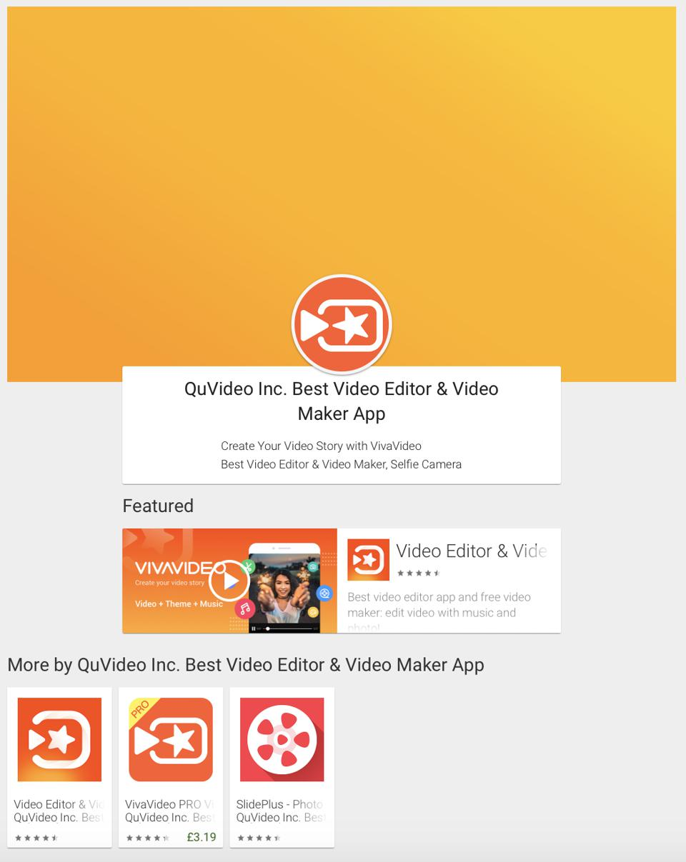 QuVideo on Google Play Store
