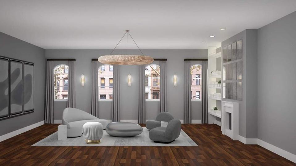 Rendering of the new Dr. Lara Devgan Office in New York