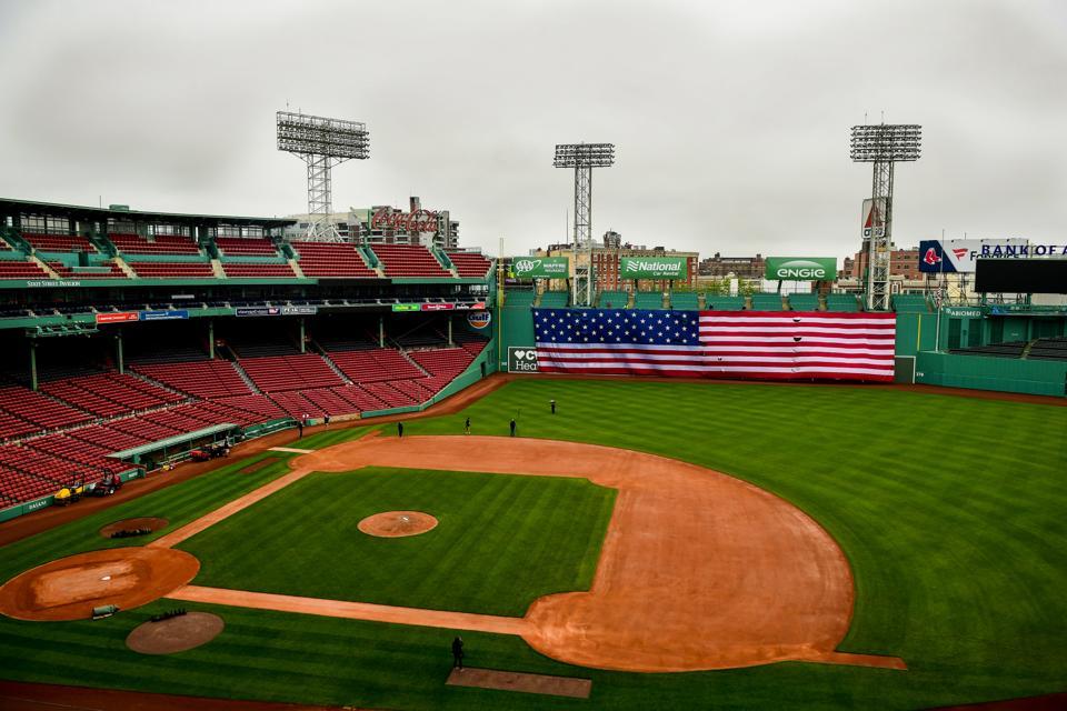 Memorial Day Green Monster American Flag Drop