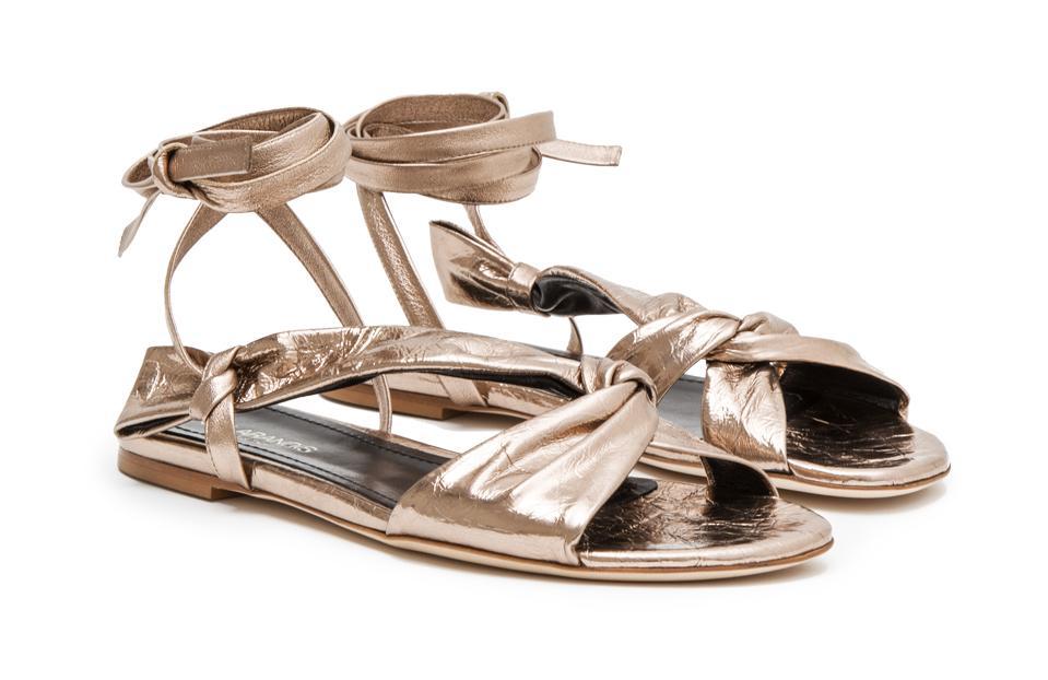 Sclarandis Siena Knotted Sandal