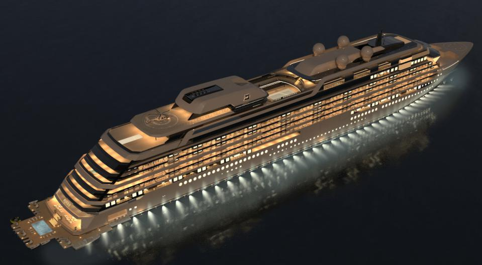 Will NJORD be the most exclusive residence in the world?