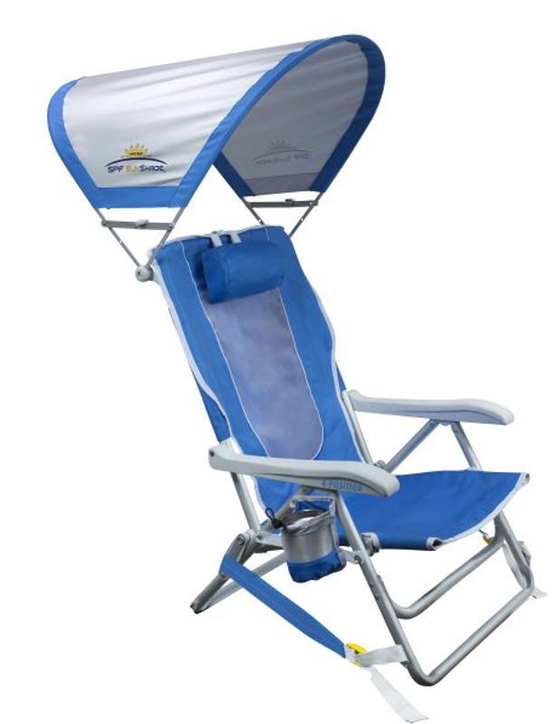 GCI SunShade Backpack Beach Chair