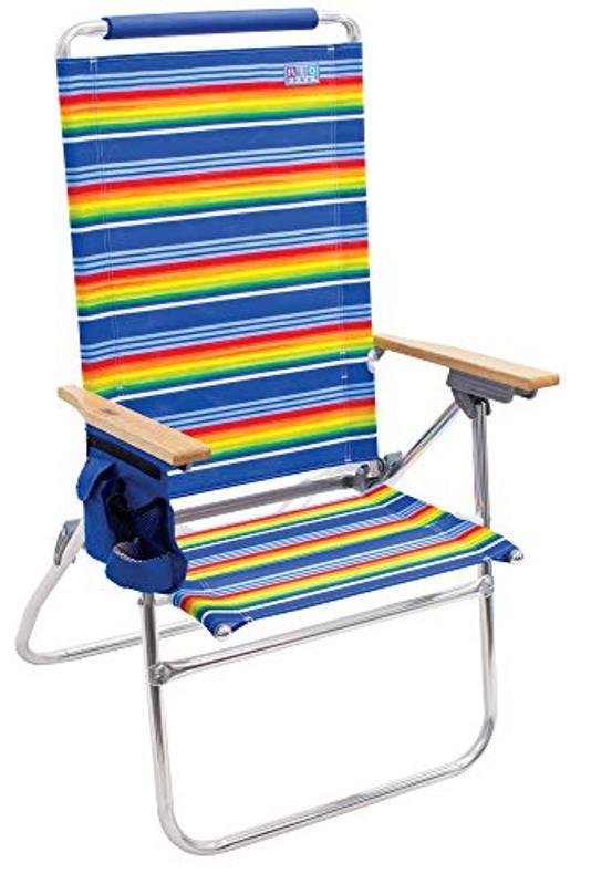 Rio Beach Hi-Boy Extended Seat Beach Chair