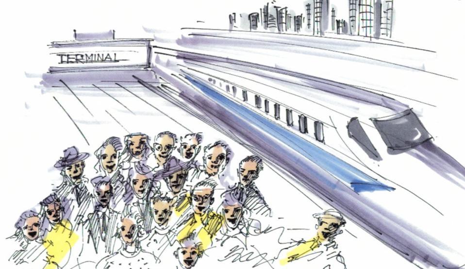 Dallas to Houston High Speed Train