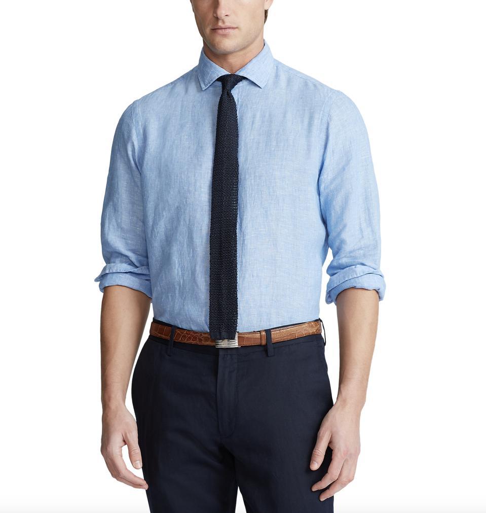 Polo Ralph Lauren Linen Chambray Shirt.
