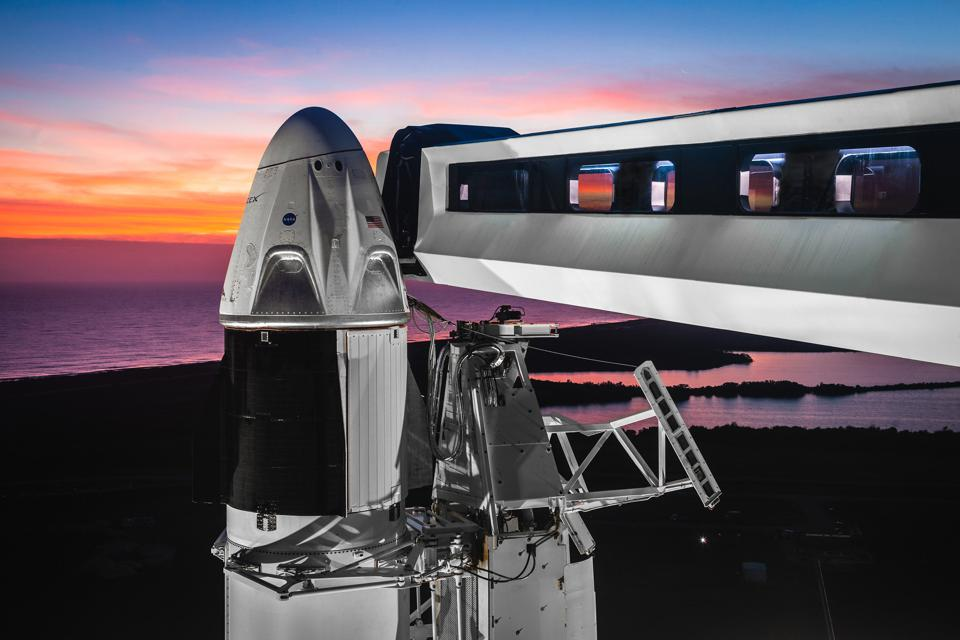 What NASA And SpaceX's Astronaut Launch Means For Space Tourism