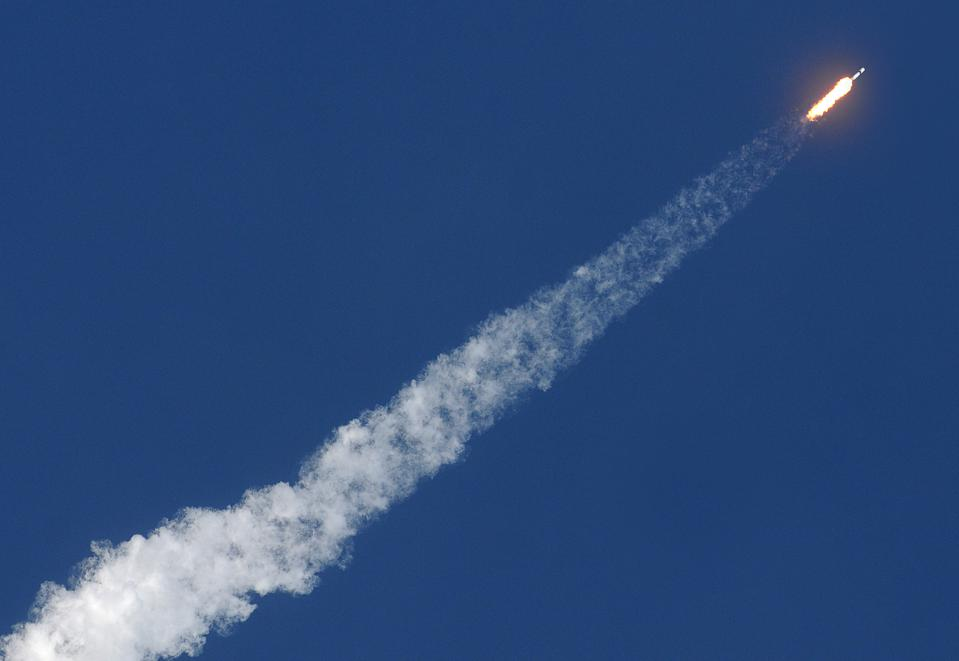 SpaceX Launches Cargo Mission To Space Station