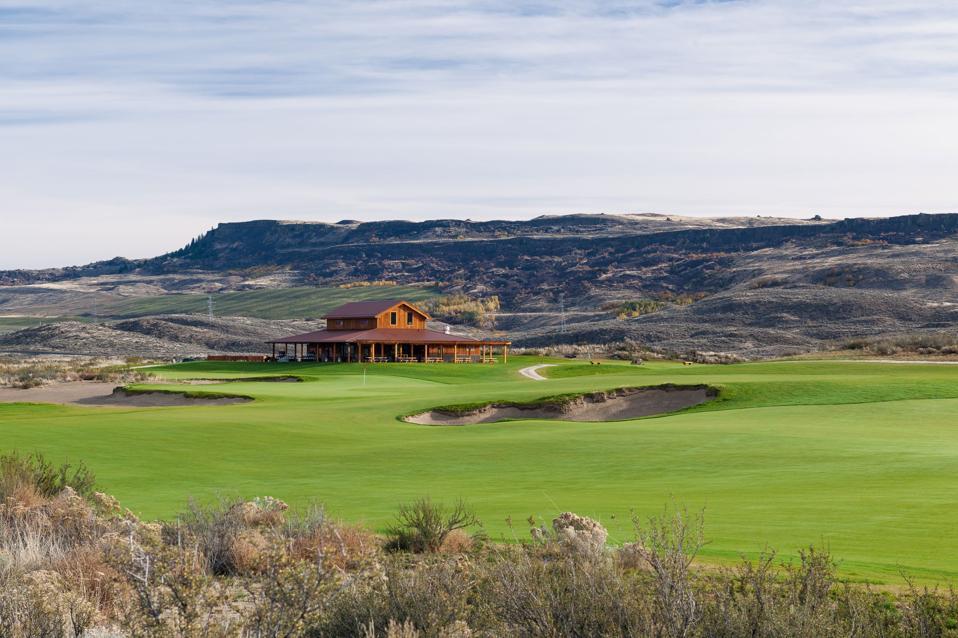 Gamble Sands Golf Course in Washington
