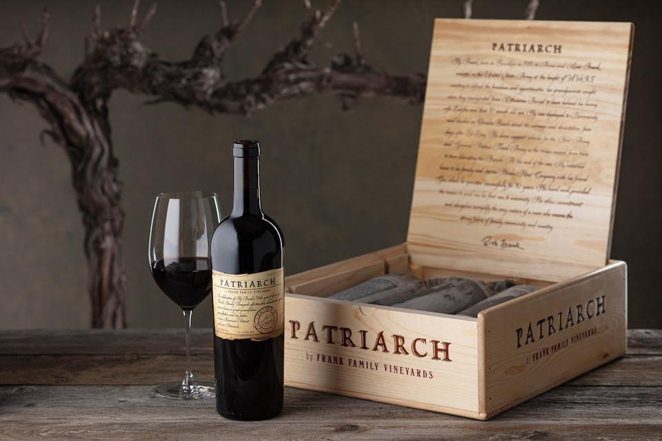 Frank Family Vineyard Patriarch Cabernet Sauvignon Fine Wine Father's Day Gift Guide