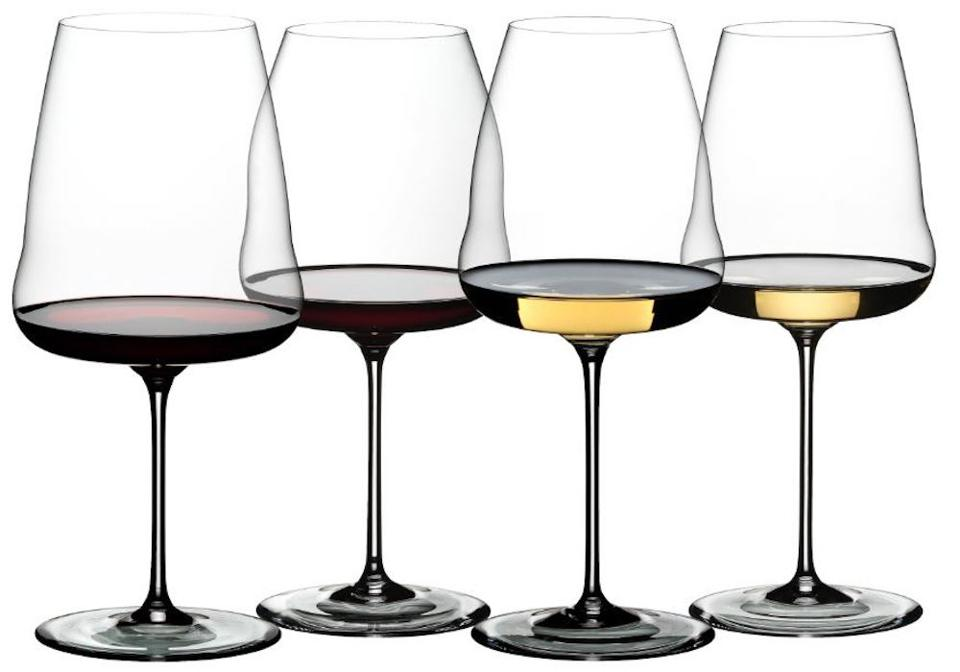 Riedel Winewings wine glasses Napa Valley Cabernet Sauvignon Luxury Father's Day Gift Guide