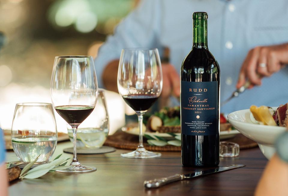 Rudd Oakville Estate Samantha's Cabernet Sauvignon Fine Wine Father's Day Gift Napa Valley