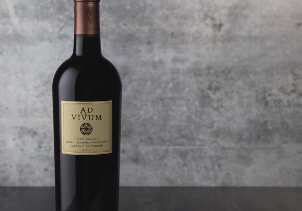 Ad Vivum 2016 Cabernet Sauvignon Napa Valley Sleeping Lady Vineyard Luxury Fine Wine