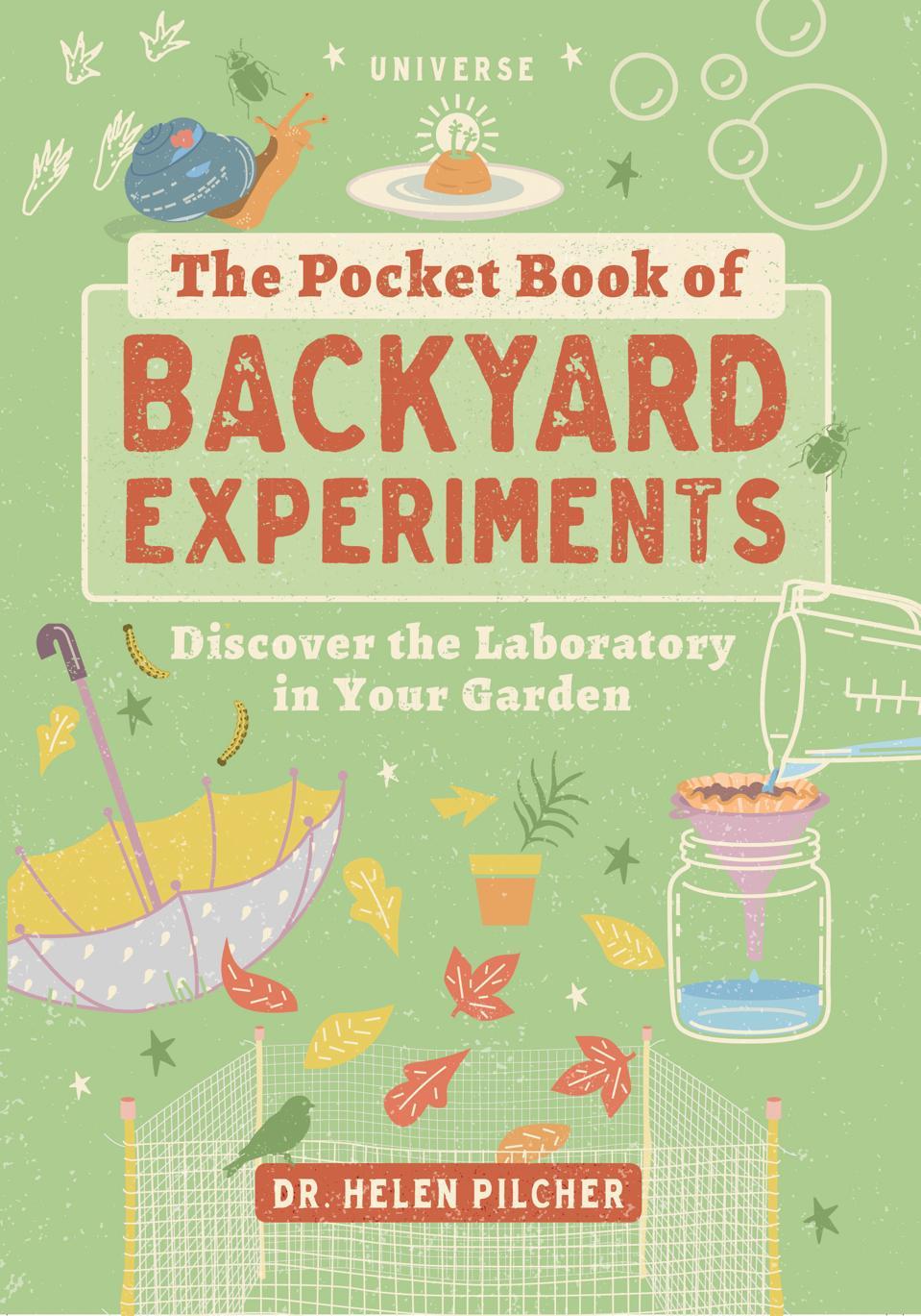 ″Pocket Book of Backyard Experiments″ book
