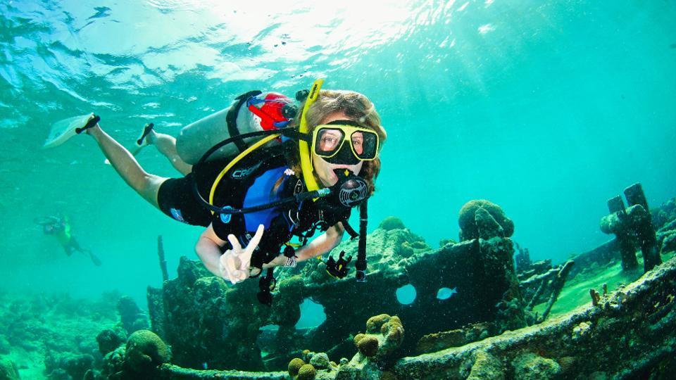 Scuba Diving In Curaçao, The Original Social Distancing